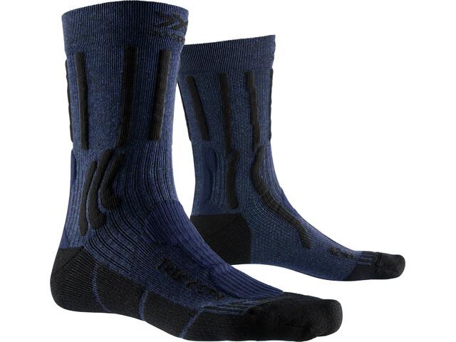 X-Socks Trek X CTN Socks midnight blue melange/opal black
